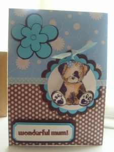 Daisy the Dog for a wonderful Mum .....
